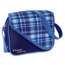 Step by Step Junior Alpbag Boys detská taška, Modrá kocka