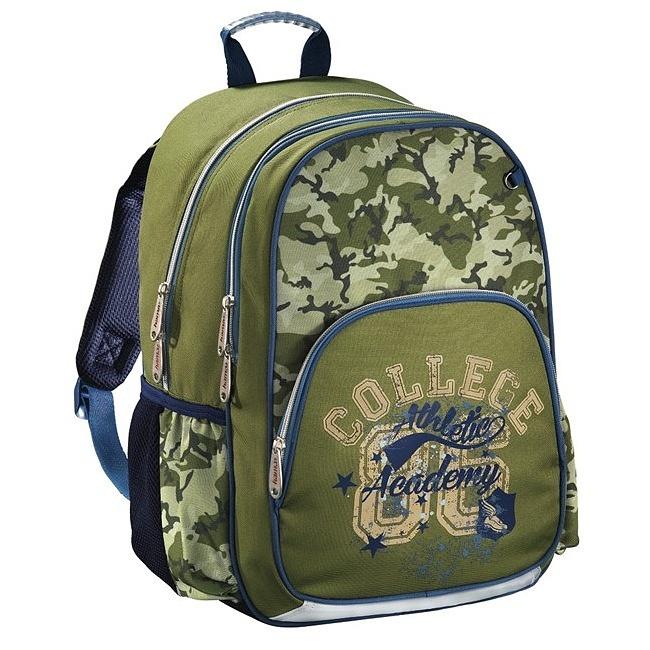 6fef922df9 Hama - Školský ruksak pre prváčikov   Army