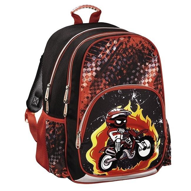 34b9ecfd05 Hama - Školský ruksak pre prváčikov   Motorka