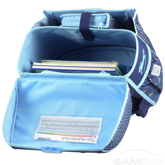 21acd16efd Baggymax - školská taška Trikky   Džínsový koník