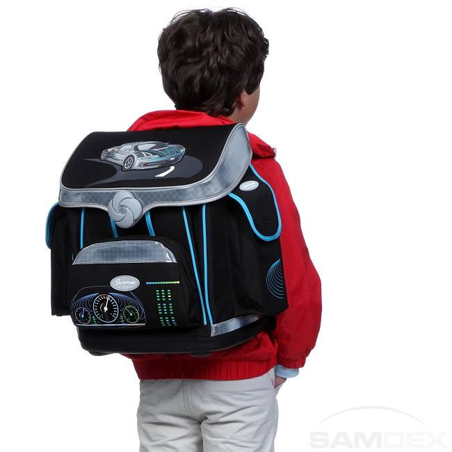 bf2d9e30f8 Sammies Premium Top Speed - Školská taška so zapínaním turn  039 ...
