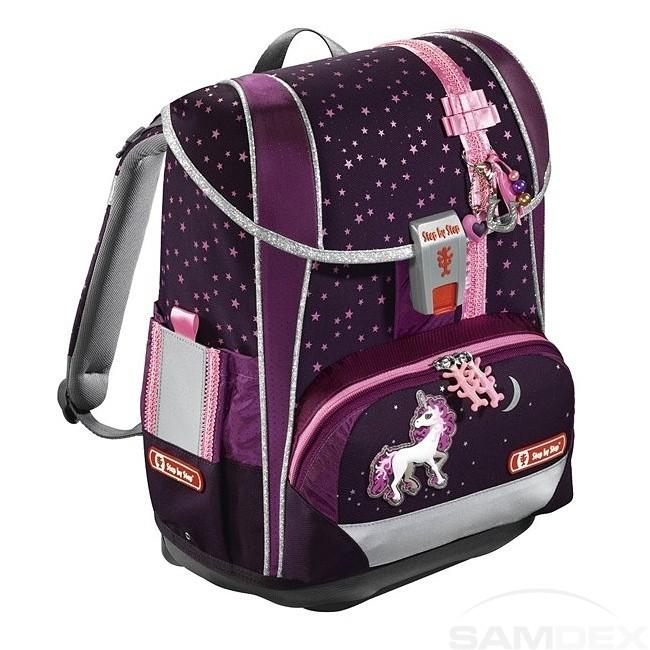 211808454e Step by Step Light 2 školská taška Jednorožec - SAMDEX