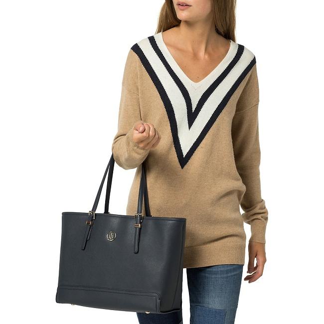 931df9d532 Tommy Hilfiger - Honey Medium Tote - Luxusné tašky a kabelky značky ...