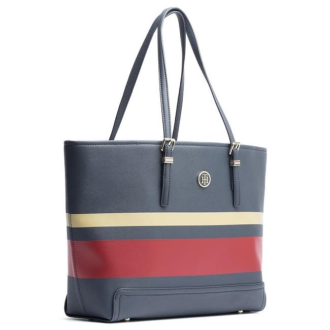 86275202df Tommy Hilfiger - Honey Medium Tote - Luxusné tašky a kabelky značky Tommy  Hilfiger