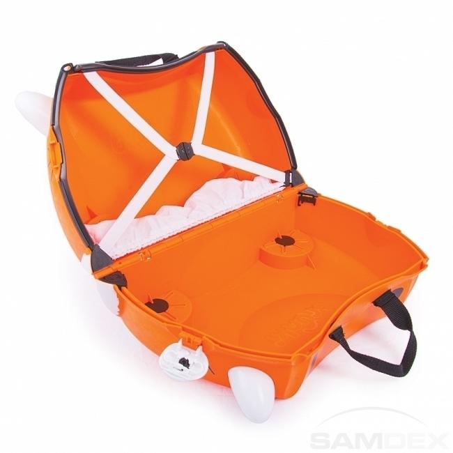 20a81891f576c Detský kufor na kolieskach TRUNKI - Tiger - Cestovné kufre, tašky, školské  tašky a batohy pre deti.   SAMDEX.sk