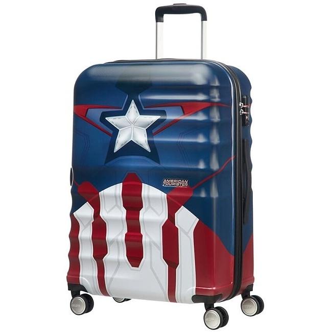 deaa28b576bc3 American Tourister - Wavebreaker Spinner 67 Marvel /Captain America ...