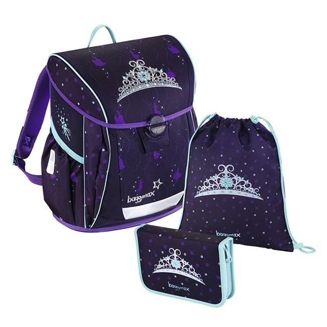 8e14bb0d90 Baggymax - školská taška Fabby   Kráľovská Koruna zväčšiť obrázok