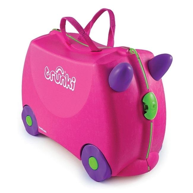 232fe20153 Detský kufor na kolieskach TRUNKI - Trixie - Cestovné kufre