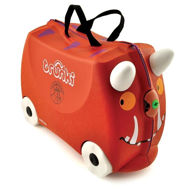 Detský kufor na kolieskach TRUNKI - Gruffalo