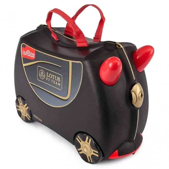 Detský kufor na kolieskach TRUNKI - Lotus