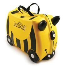 Detský kufor na kolieskach TRUNKI - Včielka