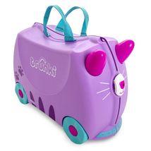 Detský kufor na kolieskach TRUNKI - Cassie Cat
