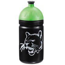 Step by Step - Plastová fľaška na nápoj 0,5 l / Čierny panter