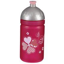Step by Step - Plastová fľaška na nápoj 0,5 l / Tvídové srdce