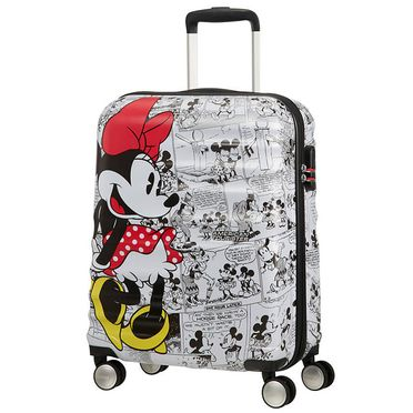 American Tourister - Wavebreaker Spinner 55 Minnie Comics White
