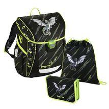 Baggymax - školská taška Fabby / Drak