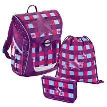 Baggymax - školská taška Fabby / Pink Star