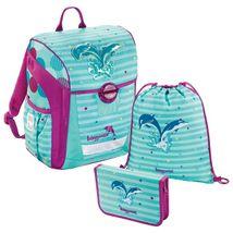 Baggymax - školská taška Trikky / Delfíny