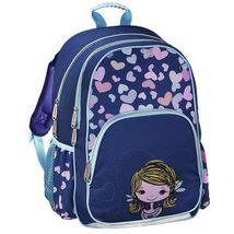 0a5e0b2bed Hama - Školský ruksak pre prváčikov   Dievčatko