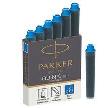 Parker - Atramentové bombičky mini /modré
