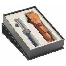 Parker Royal - Sonnet Premium SE Atlas Blue Silver CT /FP Box