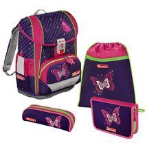 Step by Step Light 2 školská taška Lesklý motýľ