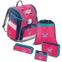 Step by Step školská taška / Motýľ + Zdravá fľaša ZADARMO