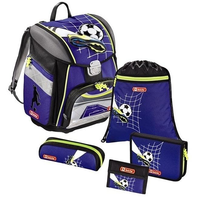 4afb498305 Step by Step školská taška Fotbal + fľaša ZADARMO 129237 - Cestovné ...